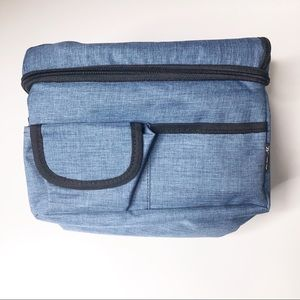Other - Denim Blue Insulated Bag Large Lunchbox